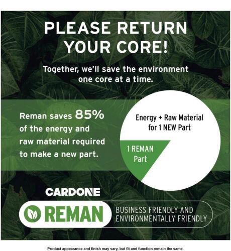 Rack and Pinion Complete Unit Cardone 22-321 Reman