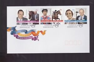 Australia-2007-Legends-Horse-Racing-Ingham-Moore-Tapp-FDC-J-465