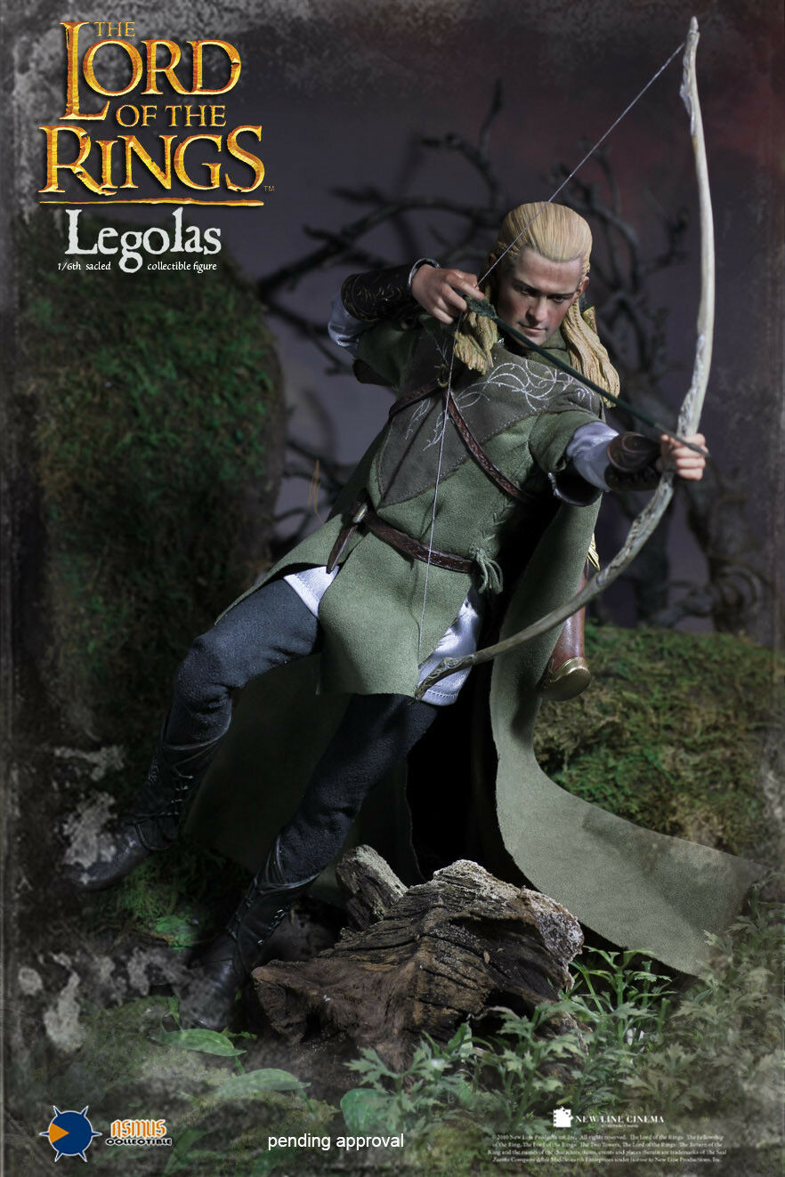 1/6 Asmus Toys The Lord of The Rings LOTR010 Legolas Grünleaf 11