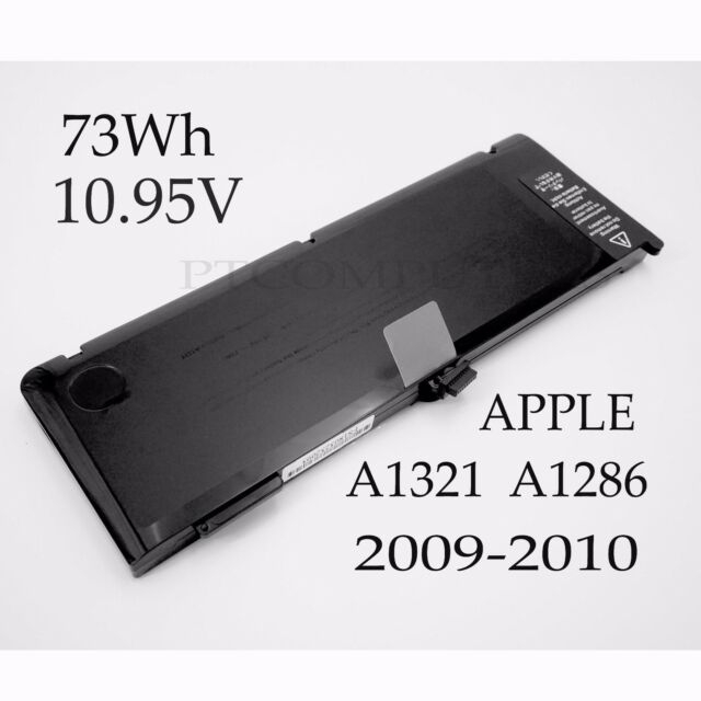 """73WH Battery for Apple MacBook Pro 15"""" A1321 A1286 MB985 MB986 MC118 2009-2010"""