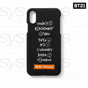 BTS-BT21-Official-Authentic-Goods-Fennec-Lettering-iPhone-Case-Tracking-Number