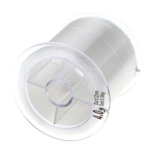 SA 3X 500m 0.32mm Starke Monofilament Nylon Angelschnur Transparent E7I7
