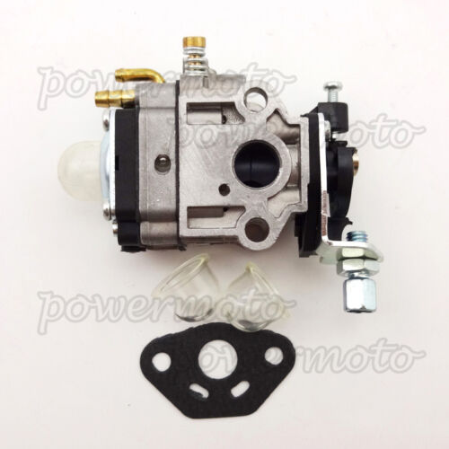 Carburetor with Primer Bulb /& Gaskets For Eskimo Stingray S33Q8 Power Ice Auger