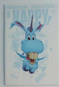 Grant Morrison/'s HAPPY #4 1st Print cvr B Frank Quitely Variant Cover RARE!