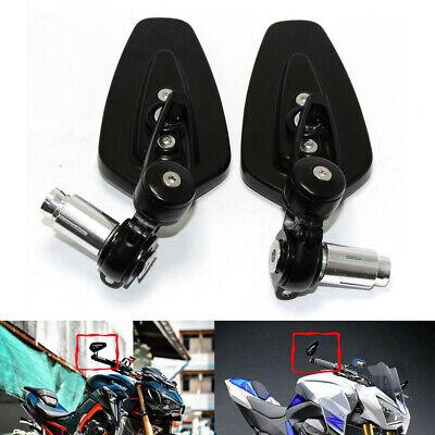 Color : Black Motorbike Mirror For Motorcycle Accessories Z800 Z750 Z1000 Z650 Z900 Z300 1pair Handel Bar Ends Motorcycle Mirror Handlebar Ends Rear Mirrors Side Mirrors