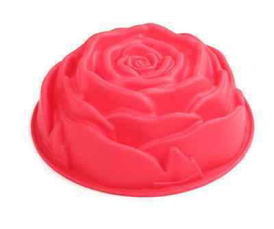New Big Size Silicone Big Red Rose Cake Mold for Biscuit Chocolate Candy Mold