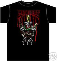 METALLICA ~ SWORD HEART T-SHIRT ~ LARGE   eBay