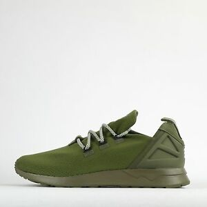 quality design c04a6 27844 Details about adidas Originals ZX Flux ADV X Mens Casual Trainers Shoes  Olive Green
