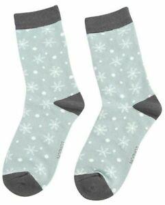 Ladies Bamboo Socks Rudolph /& Snowflakes Xmas Design Novelty Miss Sparrow 4-7
