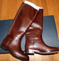 $398 Cole Haan Brown Arlington Riding Leather Boot Sz 6b