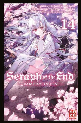 Kazé NEUWARE deutsch Manga Seraph of the End 14
