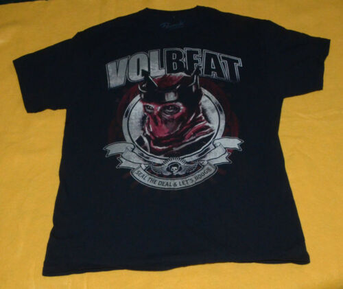 Vintage Volbeat Seal The Deal & Let's Boogie T-Shi