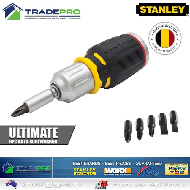 Stanley Fatmax® PRO Screw Driver Hi-Speed Ratcheting Screwdriver 6pc Set Kit
