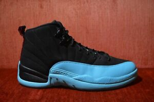 new arrival 50db0 ffadd Image is loading WORN-TWICE-Air-Jordan-Retro-12-Gamma-Blue-