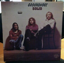 """RARE PSYCH FOLK ROCK BY GROUNDHOGS """"SOLID"""" LP UK PRESS"""