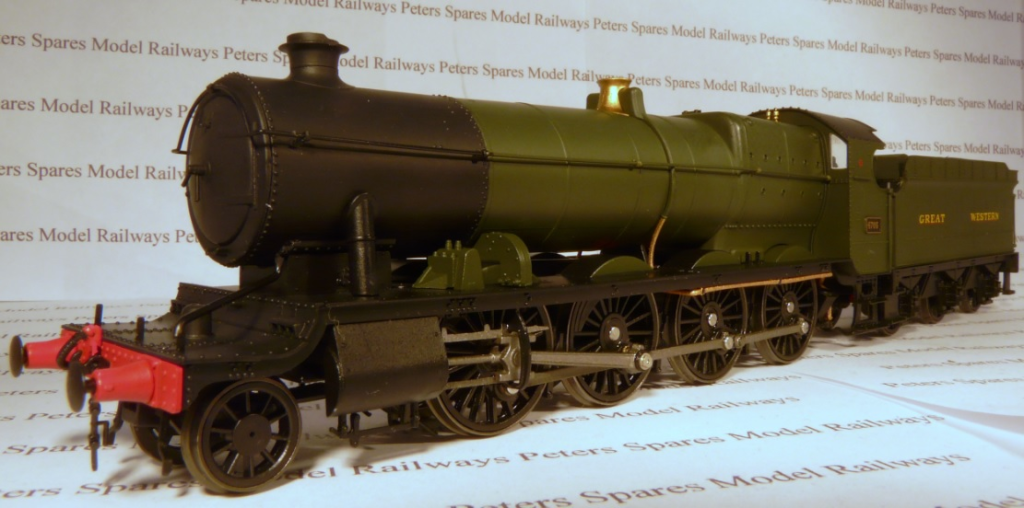 Heljan 4781 47XX 2-8-0 Night Owl GWR verde No  4705 OO Gauge