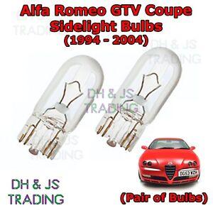 2x Alfa Romeo 159 Genuine Osram Original Side Indicator Light Bulbs Pair