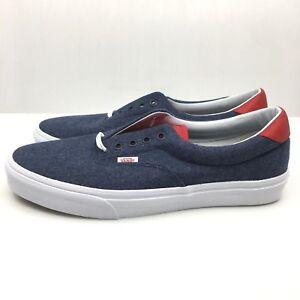 7c82fc9279 Vans Era 59 Blue Gum VN0003S4JSM authentic sole low top cream off ...