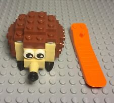 LEGO New 40212 HEDGEHOG Monthly Mini Build (repacked In Zip bag,Brick Separator)