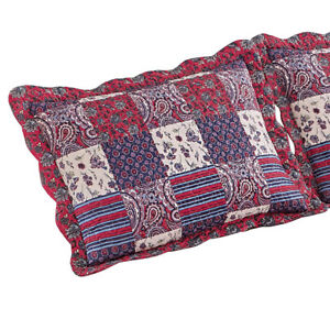 Windsor-Floral-Paisley-Patchwork-Pillow-Sham-Cover-by-Collections-Etc