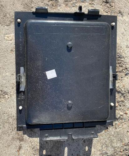 04-08 Ford F150 Black Upper Top Center Dash Tray Rubber Mat Storage Trim Panel