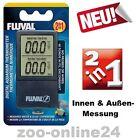 Fluval Digital Termometer für Aquarium-Terrarium: 2-in-1, innen & außen: A-11193