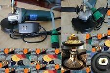 34 316 Radius Bullnose Router Bit Profiler Wet Polisher 12 Pad Stone Granite