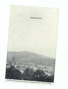 1908 Original Mint Cppr Zeppelin Over Stuttgart Carte Postale 6VeeG7G0-08045424-140751106