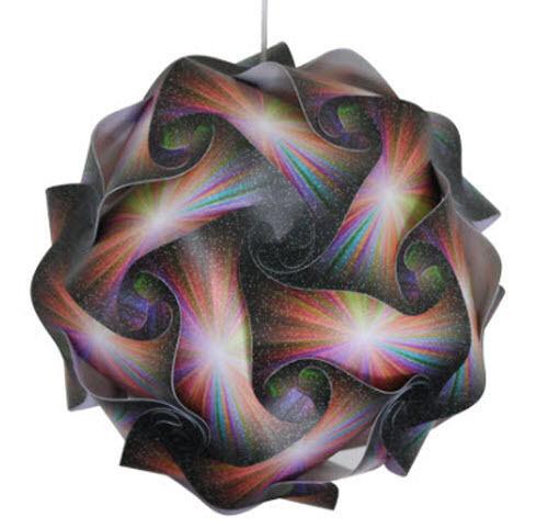 Colorful Sunburst Medium Infinity Lamp IQ Puzzle Jigsaw LuvaLamps 30 Pieces USA