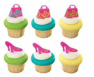 Image Is Loading Purse Shoes Handbag Bachelorette Pink Cupcake Picks 24
