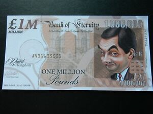 Thanks a Million Novelty Bank Note Ronald Reagan Thank You Gift Idea Dollars USA