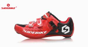 best sneakers 87c51 f7bae Dettagli su Scarpe Ciclismo per Bici da strada da Corsa - Sidebike
