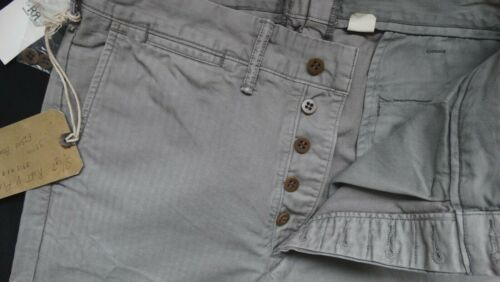 Ralph Lauren Rrl R1 L34 Slim Chino Gr Double W33 Clapboard Fit 4AL3jR5