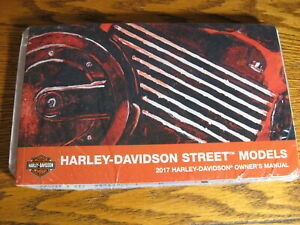 2017-Harley-Davidson-Street-500-750-Owner-039-s-Owners-Manual-KIT-NEW-in-Wrap