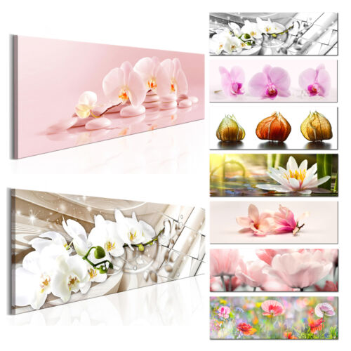 LEINWAND Deko BILDER Blumen Orchidee Lilien XXL WANDBILD XXL Wohnzimmer 13 Motiv