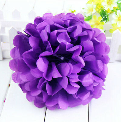 NEW Tissue Paper Pom Pom Flowers Ball Party Wedding Home Baby Shower Event Decor