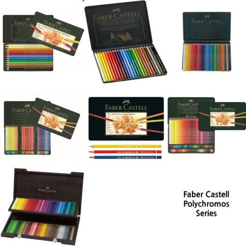 fabercastell polychromos colour pencils tin of 120  ebay