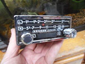old timer vintage radio car ancien autoradio voiture voxson junior 70 ebay. Black Bedroom Furniture Sets. Home Design Ideas