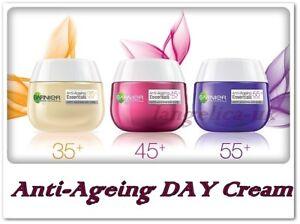 GARNIER-Anti-Ageing-Essentials-DAY-Face-Cream-35-45-55-Anti-Wrinkles-50ml