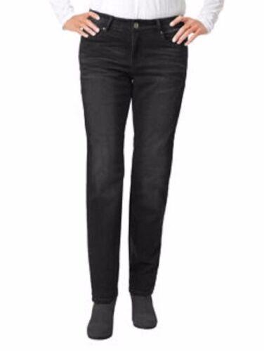 Buffalo Ladies Boyfriend Style Knit Jean Black Blasted 4//27 M15
