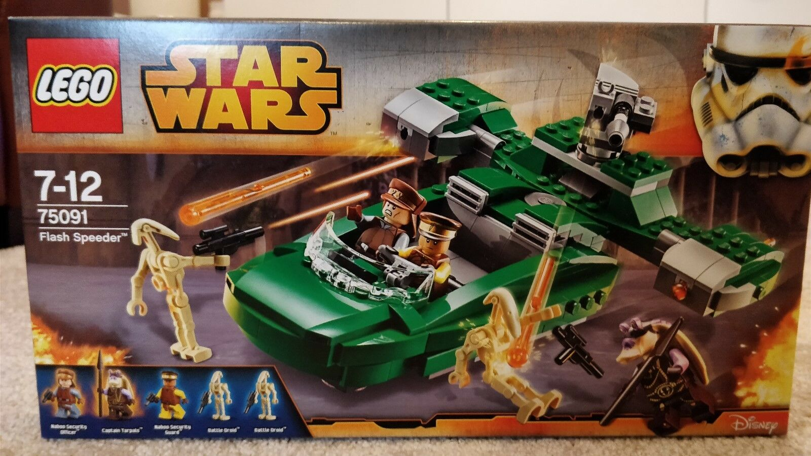 Lego Star Wars 75091 Flash Speeder NEW SEALED BNISB