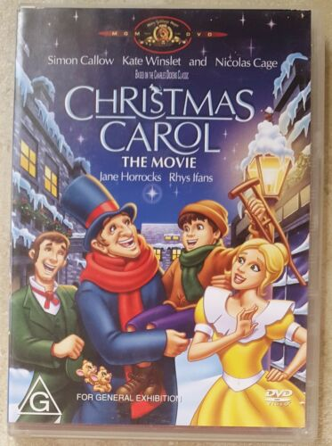 1 of 1 - Christmas Carol - The Movie (Kate Winslet) DVD in EXCELLENT condition (Region 4)