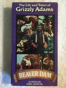 The-Life-and-Times-of-Grizzly-Adams-Beaver-Dam-Prev-Viewed-VHS-Dan-Haggerty