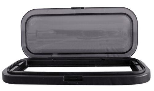 Rockville RWSG3B Universal Marine//Boat Splash Guard Stereo Housing Case Black