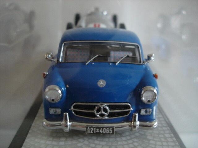 MB voiture de course-rapidement transporteur-Premium ClassiXXs + voiture de course w196 1954 1 43