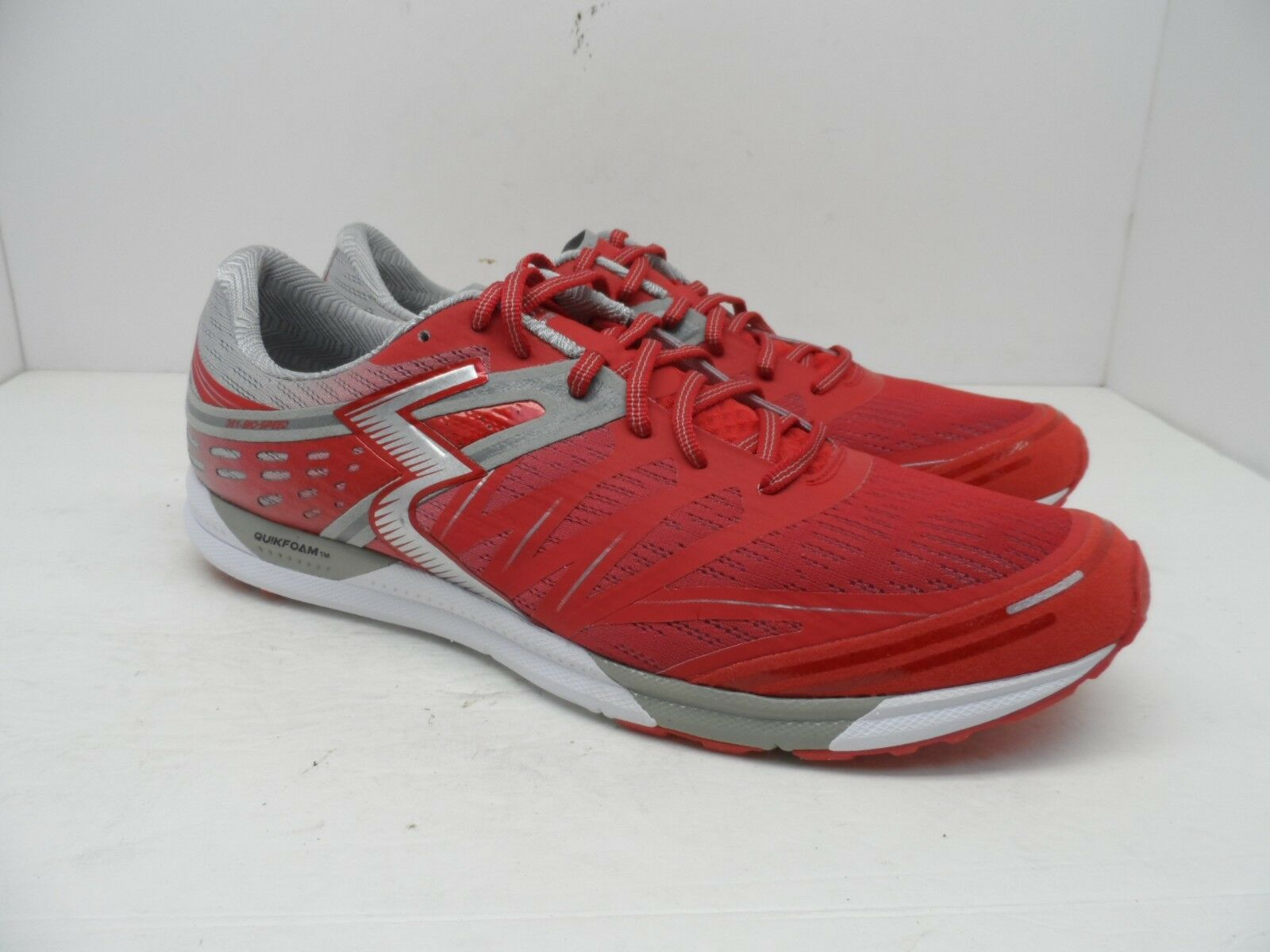 361 Degrees Men's Bio-Speed Cross Trainer Red/Silver/White Size 13M