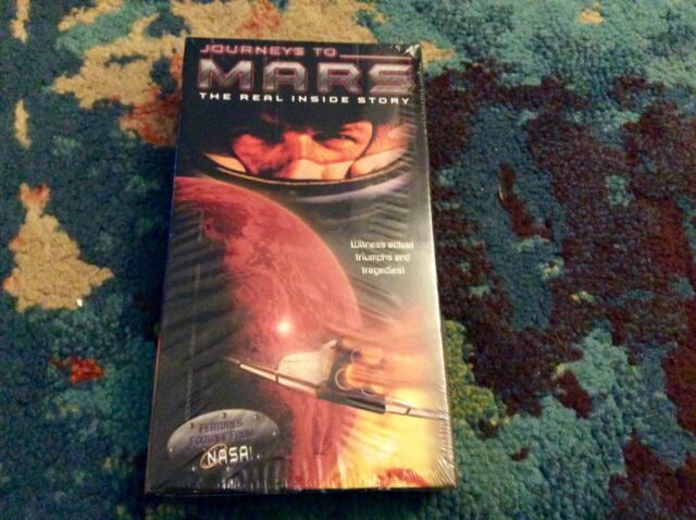 Journeys To Mars - The Real Inside Story VHS 2000 Orson Welles Rare Very Good
