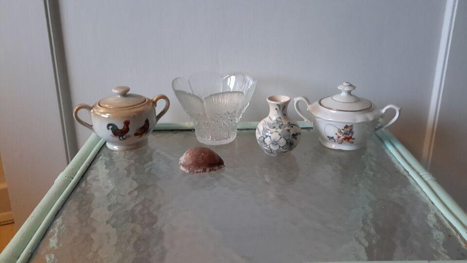 Porcelæn, Konkylie, sukkerskål