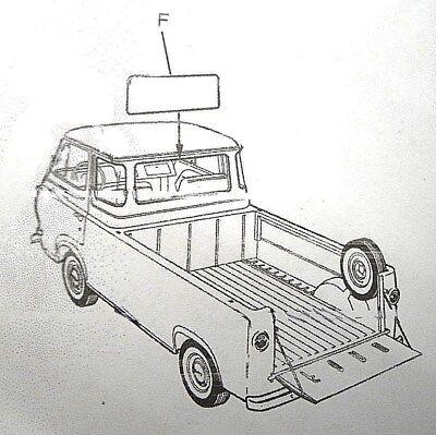 1961-1967 Ford Pickup Truck Econoline Window Cranks Set