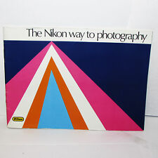 Nikon The Nikon Way to Photography Camera System Guide Book F2SB O31142